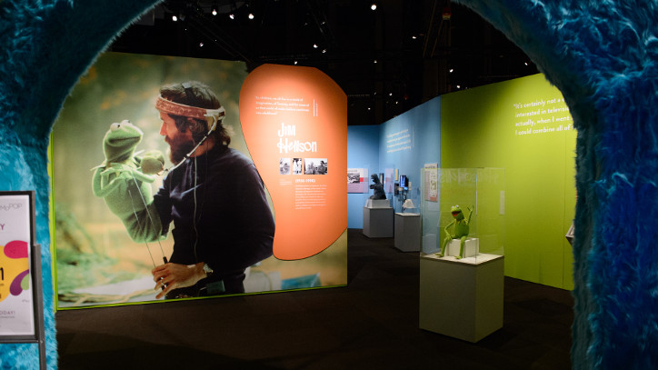 Jim Henson Exhibit cover image